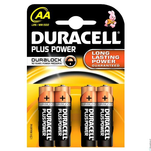 DURACELL STILO PLUS POWER 1500 AA 4PZ MN2400