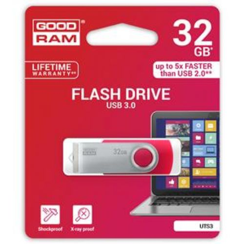 GOODRAM PEN DRIVE 32GB UTS3 c/siae USB 32gb